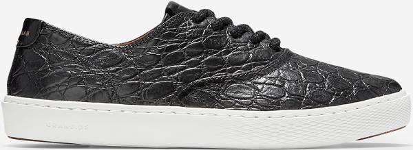 Cole Haan Grandpro Deck Sneaker - Black Leather