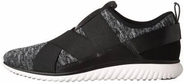 Cole Haan StudioGrand Knit Sneaker - Black Knit (W08514)