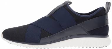 Cole Haan StudioGrand Knit Sneaker Marine Blue/ Black Men