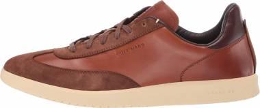 Cole Haan GrandPro Turf Sneaker - Braun British Tan Tumbled British Tan Suede British Tan Tumble (C29166)