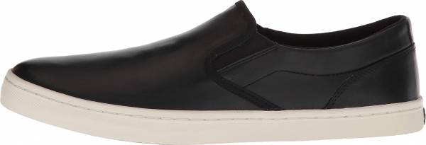 Cole Haan Nantucket Deck Slip-On Sneaker Black Leather