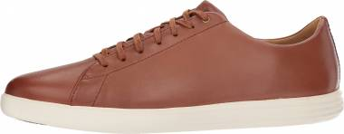 Cole Haan Grand Crosscourt Sneaker - Brown Tan Leather Burnished Tan Leather Burnished (C26521)