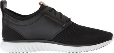 Cole Haan GrandMotion Knit Sneaker - Black/Optic White