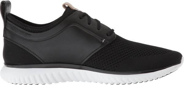 Cole Haan GrandMotion Knit Sneaker Black/Optic White