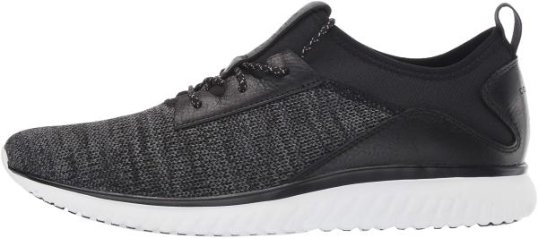 Cole Haan GrandMotion Knit Sneaker - Black Black Optic White Black Optic White (C30654)