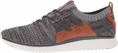 Cole Haan GrandMotion Knit Sneaker - Magnet Ironstone Knit