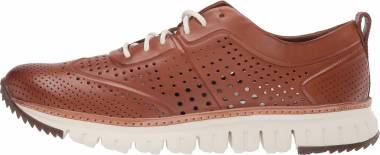 Cole Haan ZEROGRAND Perforated Sneaker - Brown (C29735)
