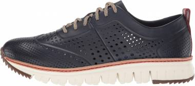 Cole Haan ZEROGRAND Perforated Sneaker - Blue (C21567)
