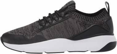 Cole Haan Zerogrand All Day Trainer - Black Black Gray Pinstripe Knit Black Optic White Blk Knt Ltr Wht Gr (C29383)