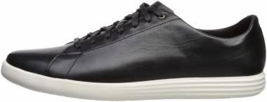 Cole Haan Grand Crosscourt II - Black Leather/White (C27974)