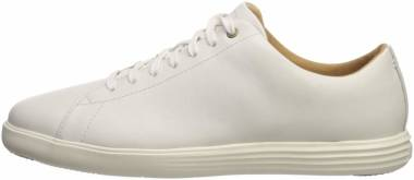 Cole Haan Grand Crosscourt II - Bright White Leather/Optic White (C26515)