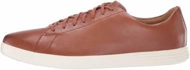Cole Haan Grand Crosscourt II - Tan Leather Burnsh (C26521)
