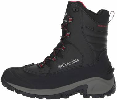 Columbia Bugaboot III Black, Bright Red Men