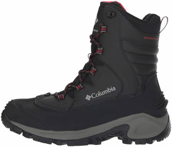 Columbia Bugaboot III Black/Bright Red