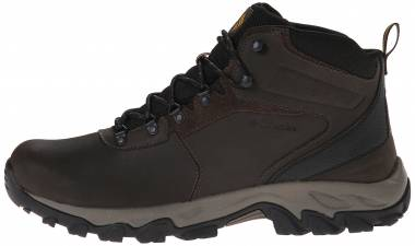 Columbia Newton Ridge Plus II Waterproof - Cordovan/Squash (1594731231)