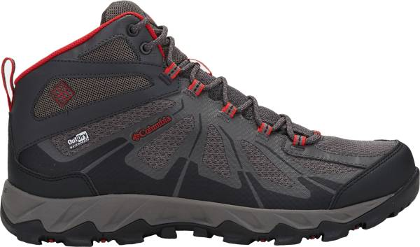 Columbia Peakfreak XCRSN II XCEL Mid OutDry - City Grey, Bright Red
