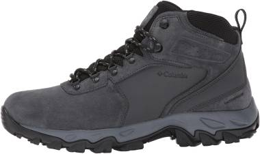 Columbia Newton Ridge Plus II Suede Waterproof - Shark/Black (1746411011)