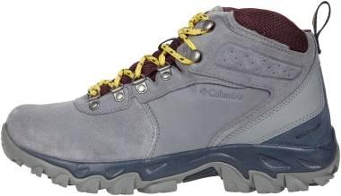 Columbia Newton Ridge Plus II Suede Waterproof - Titanium Grey Steel/Epic Plum (1746412033)