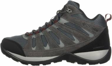 Columbia Redmond V2 Mid Waterproof - Graphite/Red Jasper (1865082053)