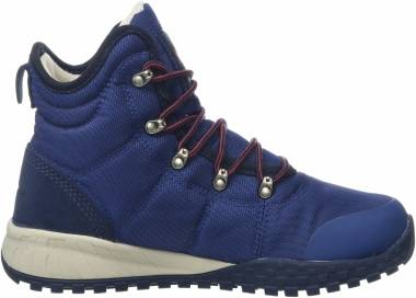 Columbia Fairbanks Omni-Heat Boot - Blue Carbon Red Jas (1746011469)