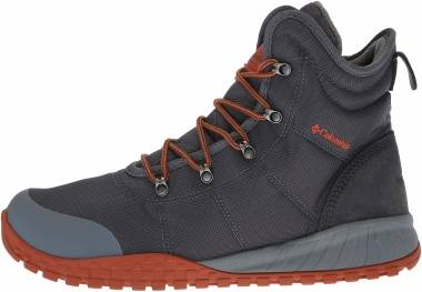 Columbia Fairbanks Omni-Heat Boot - Graphite Dark Adobe