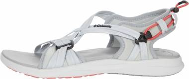 Columbia Columbia Sandal - Grey Ice/Red Coral (1889551063)