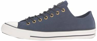 Converse Chuck Taylor All Star Leather Low Top - Obsidian/Egret/Black