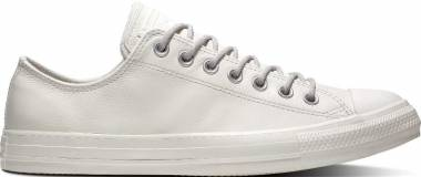 Converse Chuck Taylor All Star Leather Ox - Beige (163342C)