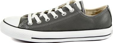 Converse Chuck Taylor All Star Leather Ox - Charcoal (545017C)