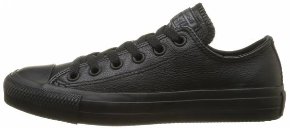 Converse Chuck Taylor All Star Leather Ox - Black (135253C)
