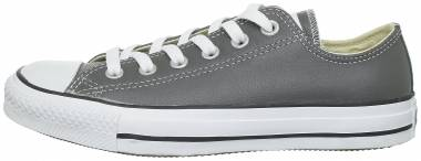 Converse Chuck Taylor All Star Leather Ox Charcoal Men