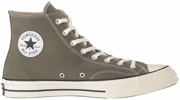 beige high top converse