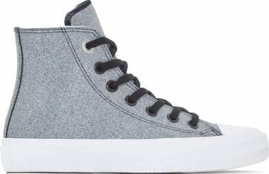 Converse Chuck II High Top - Black/White/White (Grey) (154026C)