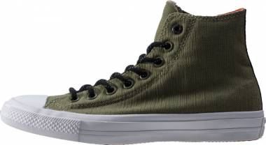 Converse Chuck II High Top - Fatige Green/Signal Red/ White