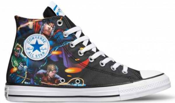 bcad1782db62 Converse Chuck Taylor All Star DC Comics Justice League High Top converse- chuck-taylor