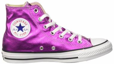 Converse Chuck Taylor All Star High Top - Pink Magenta Glow Black White (155556C)