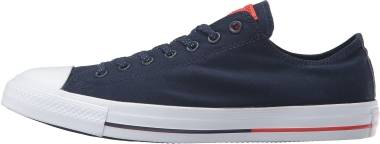 Converse Chuck Taylor All Star Low Top - Obsidian/White/Signal Red