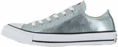 Converse Chuck Taylor All Star Metallic Low Top - Silver