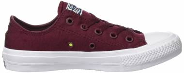Converse Chuck II Low Top - Red