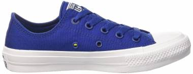 Converse Chuck II Low Top Sodalite Blue / White Men
