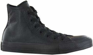 Converse Chuck Taylor All Star Core Leather Hi - Nero Schwarz (135251C)