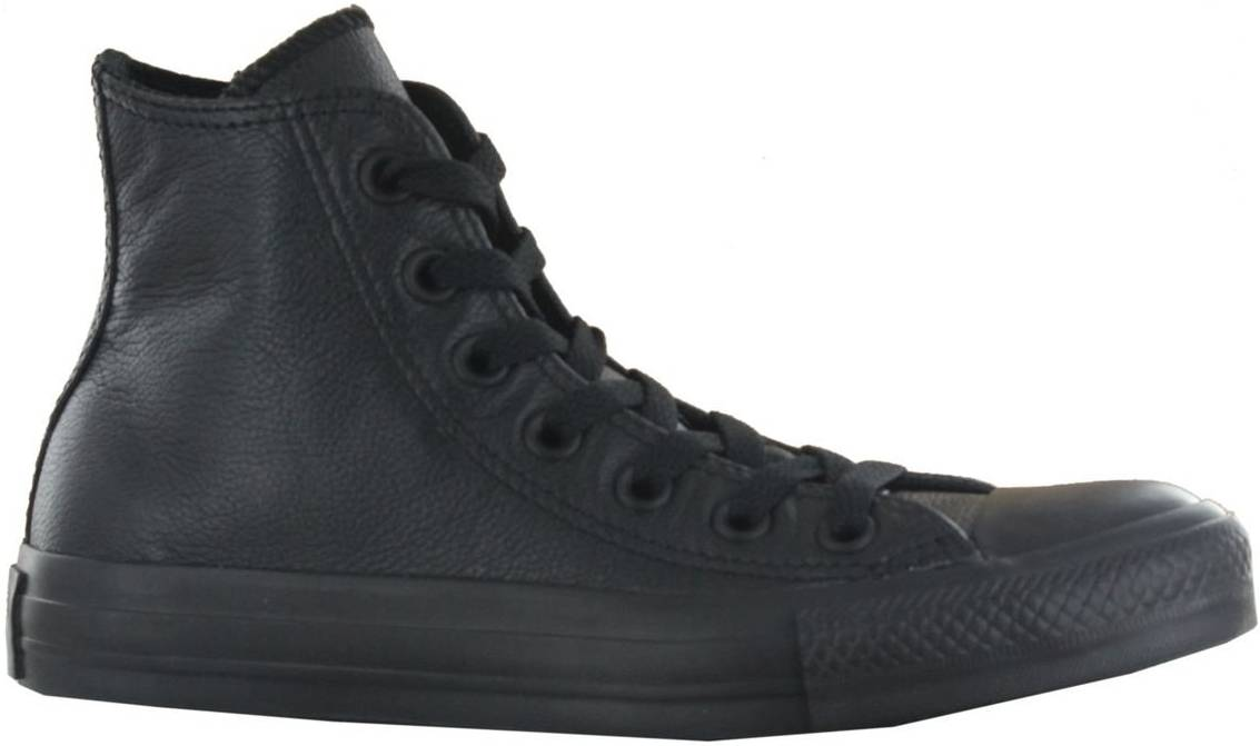Pelágico Eso Quizás  Converse Chuck Taylor All Star Core Leather Hi sneakers in black (only $60)  | RunRepeat