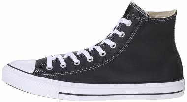 Converse Chuck Taylor All Star Leather High Top - Black (135251C)