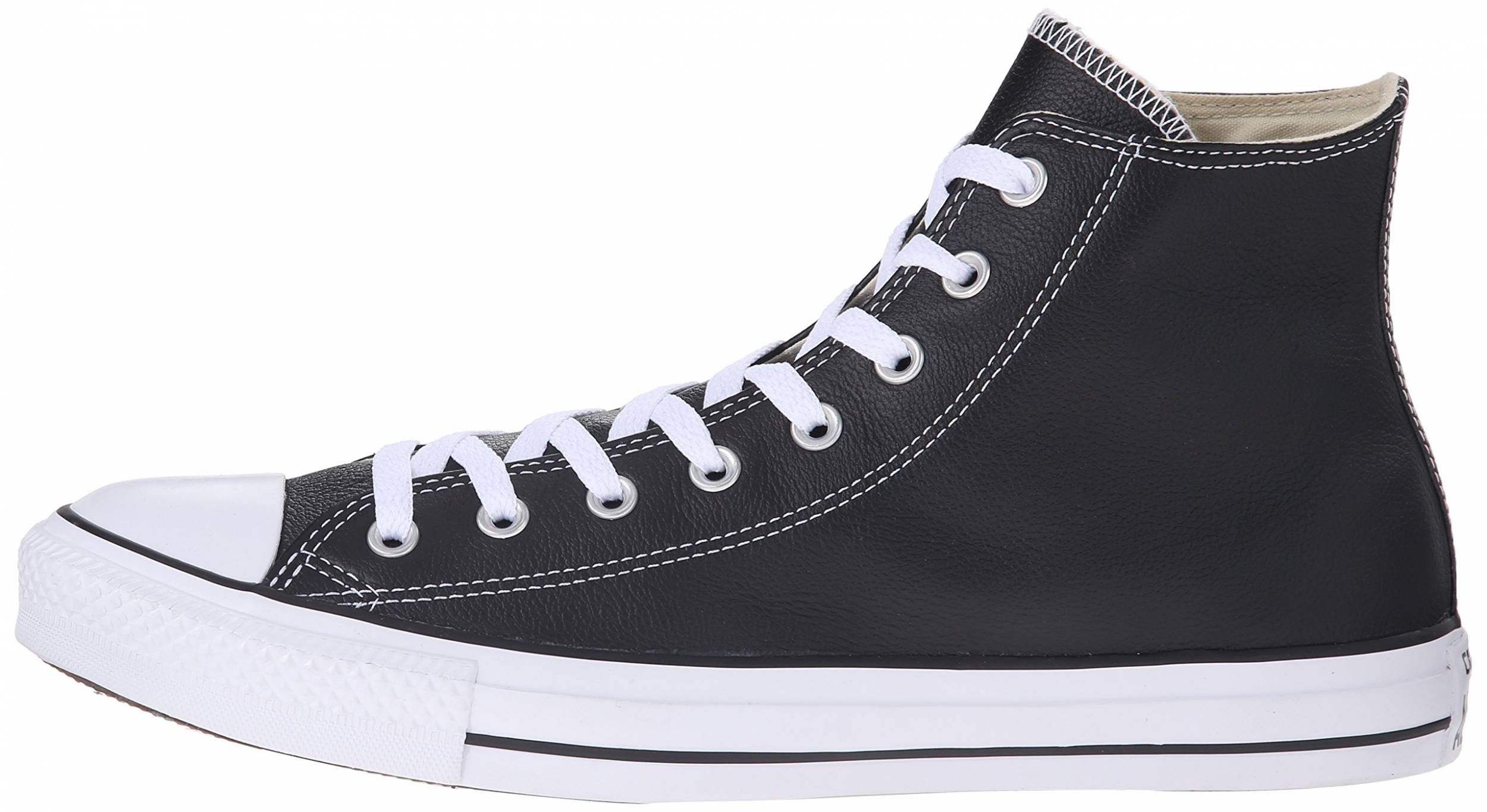 Moretón Sin Canoa  Converse Chuck Taylor All Star Leather High Top sneakers in 3 colors (only  $44) | RunRepeat