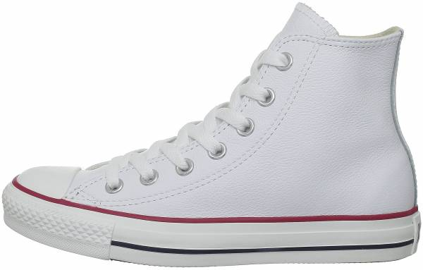 Converse Chuck Taylor All Star Leather High Top - White (132169C)