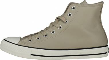 Converse Chuck Taylor All Star Leather High Top Beige Men