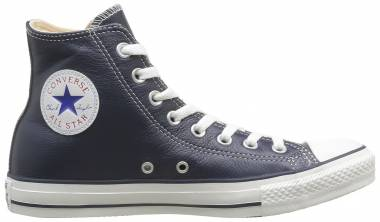 Converse Chuck Taylor All Star Leather High Top Blue Men