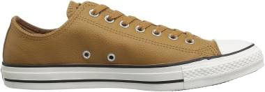 Converse Chuck Taylor All Star Leather Low Top - Brown (161496C)