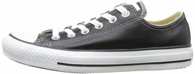 Converse Chuck Taylor All Star Leather Low Top - Black (132174C)