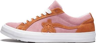 Converse One Star x Golf Le Fleur - Candy Pink/Orange Peel/White (162125C)